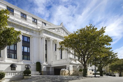 The Ritz-Carlton, San Francisco, the city's only AAA Five-Diamond hotel located in prestigious Nob Hill reopens April 15, 2021.