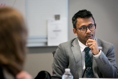 Ather Sharif speaking during the 2018 Leadership Institute of ADA 25 Advancing Leadership.