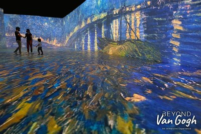 BLOCKBUSTER BEYOND VAN GOGH: THE IMMERSIVE EXPERIENCE COMING SOON TO SAN JOSE! REGISTER NOW TO GET FIRST ACCESS TO TICKETS BEFORE THEY GO ON SALE TO THE GENERAL PUBLIC www.vangoghsanjose.com (CNW Group/Beyond Exhibitions)