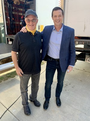 Executive Producer Rick Eldridge and Film Lead Eric Close behind-the-scenes of The Mulligan Movie — in theaters 2022.