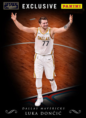 Panini America signs Dallas Mavericks superstar Luka Doncic to multiyear exclusive for autographs and memorabilia.