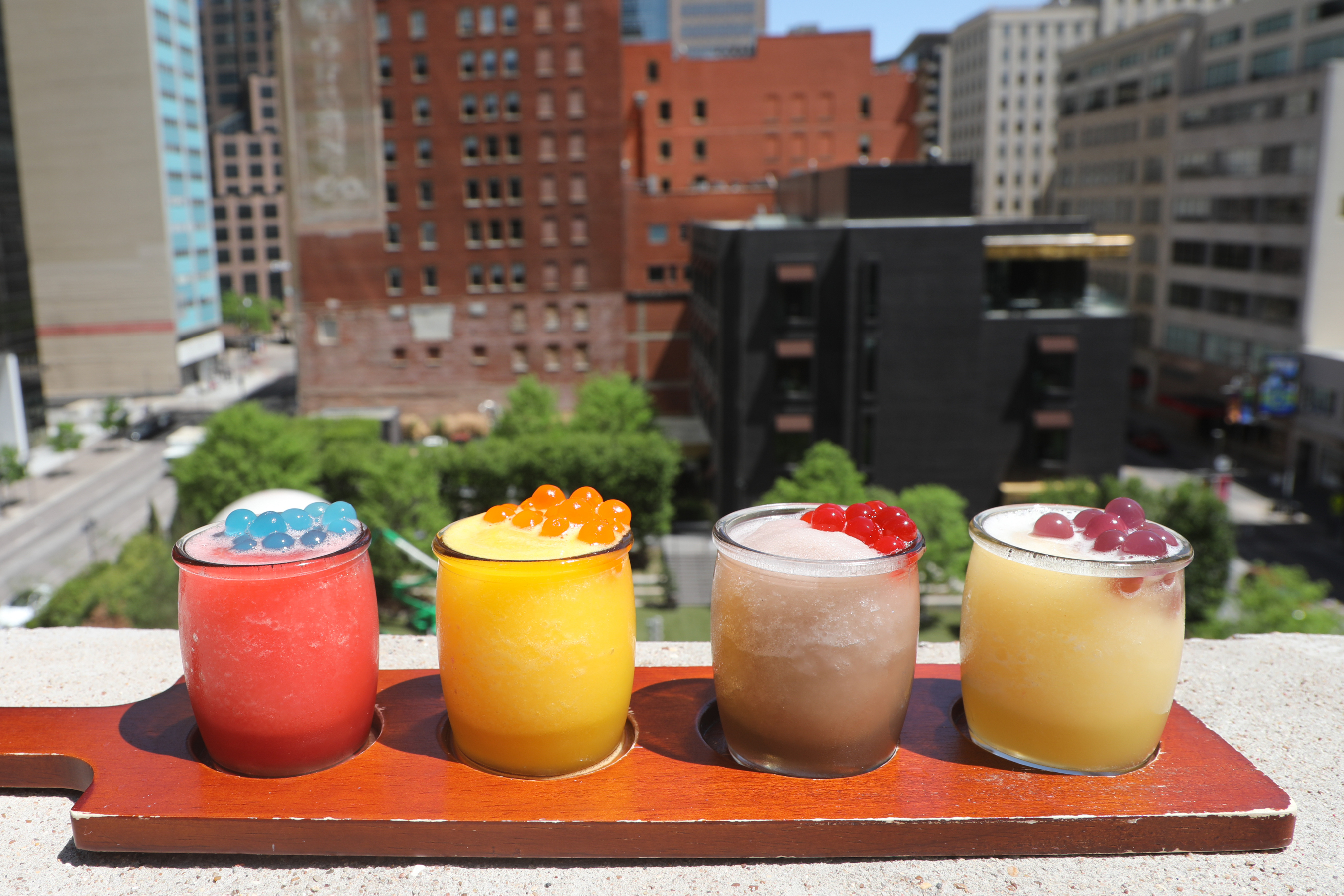 Take your flight to new heights by discovering new flavor combinations using our popping boba!