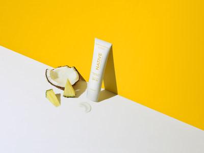 Native's Body Sunscreen in Coconut & Pineapple