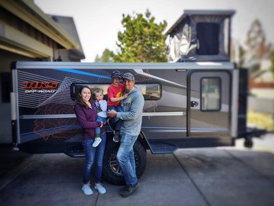 RKS Off-Road delivers first Purpose Trailer to customers in Bend, OR.