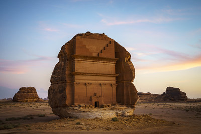 Hegra Heritage Site - AlUla (PRNewsfoto/Kingdom of Saudi Arabia)