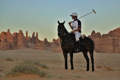 Polo entertainment at AlUla (PRNewsfoto/Kingdom of Saudi Arabia)