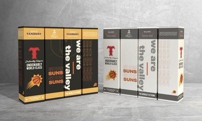 Tanduay products in co-branded packaging with the Phoenix Suns are available in Arizona in celebration of the partnership.