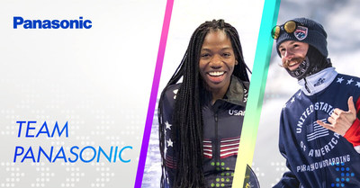 Panasonic continues momentum by adding short track speed skater, Maame Biney and para-snowboarder, Noah Elliott to the Team Panasonic roster.