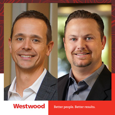 Westwood's Aaron Tippie, PE, transitioned to Chief Strategy Officer, and Bryan P. Powell, PE, transitioned to Chief Operations Officer on April 5, 2021.