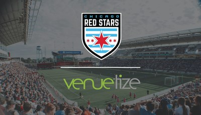 Chicago Red Stars Partner with Venuetize for Mobile Ticketing, Enhanced Gameday Experience for Fans