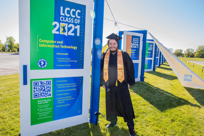 Aidan Bundy earned his Associate of Applied Business in Computer Information Systems Software Development with honors. He's continuing his education through LCCC's University Partnership to earn a bachelor's degree in computer programming from The University of Akron.
