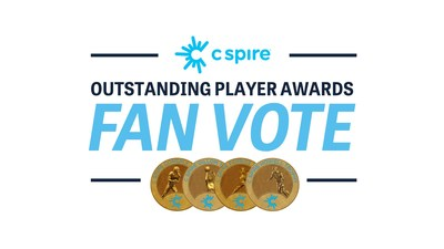 For the first time in the award program's 25-year history, Mississippi football, baseball and basketball fans will have the opportunity to take part together in the voting starting today for the 2021 C Spire Outstanding Player Awards, which annually honor the Magnolia state's top male and female college athletes.