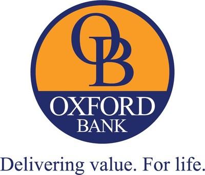 Oxford Bank - Oxford, MI (PRNewsfoto/Oxford Bank Corporation)