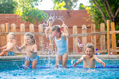 Swimmy lets happy pool owners share their property with vacationers or local residents, for half a day or a full day - a great way to turn their pool into a profitable part of their home. (PRNewsfoto/Swimmy)