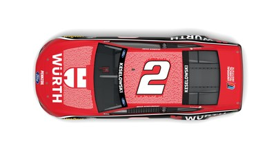 480 Universal Technical Institute instructors and 39 Würth trainers will be featured in one-of-a-kind paint scheme at Dover International Speedway's NASCAR Cup Series race on May 16, 2021.