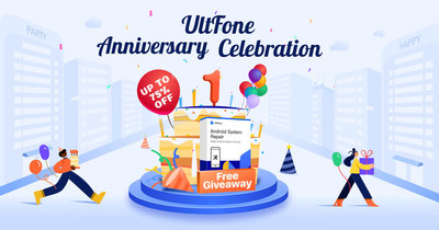 UltFone Celebrates One-Year Anniversary with Giveaways and Online Surprises