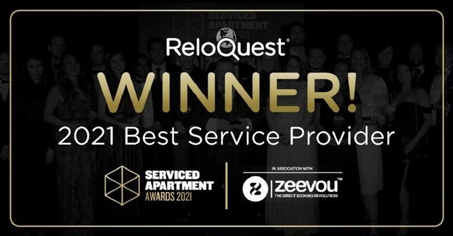 ReloQuest wins Best Service provider at the Services Apartment Awards 2021